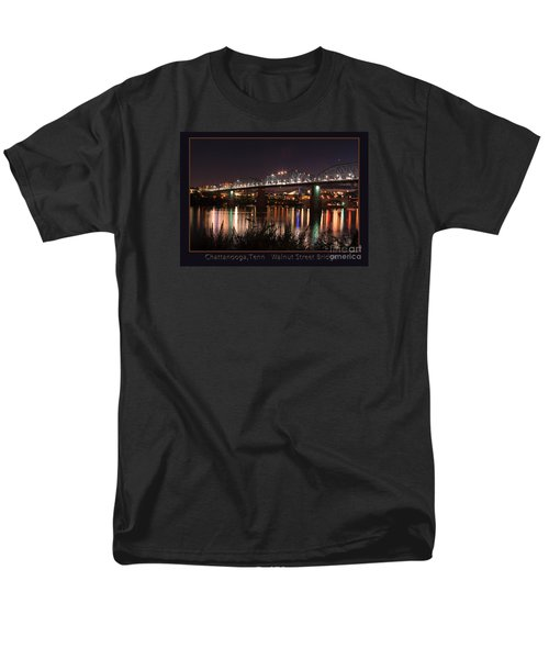 Men's T-Shirt  (Regular Fit) featuring the photograph Walnut At Night by Geraldine DeBoer