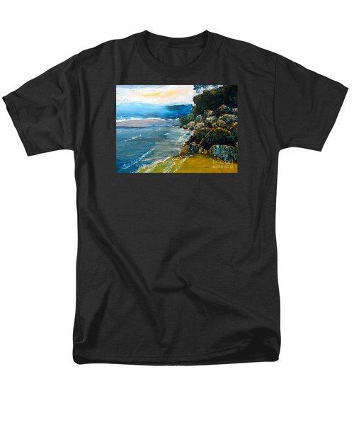 Walomwolla Beach Men's T-Shirt  (Regular Fit) by Pamela  Meredith