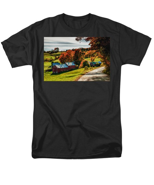 Wandering Down The Road Men's T-Shirt  (Regular Fit) by Jeff Folger
