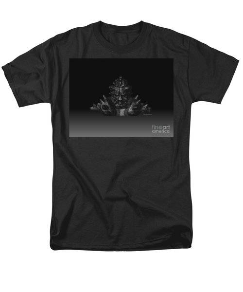 Men's T-Shirt  (Regular Fit) featuring the sculpture Warlord by R Muirhead Art