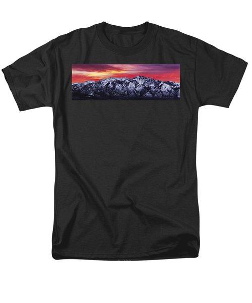 Wasatch Sunrise 3x1 Men's T-Shirt  (Regular Fit) by Chad Dutson