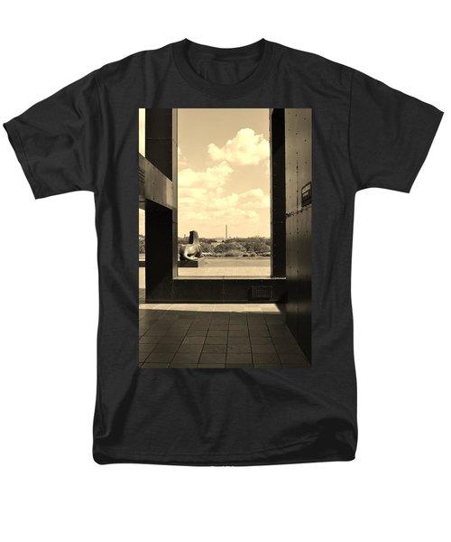 Washington Dc Framed Men's T-Shirt  (Regular Fit)