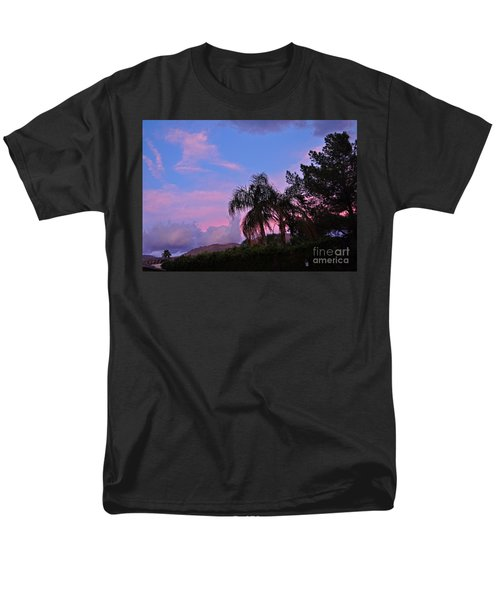 Water Colored Sky Men's T-Shirt  (Regular Fit) by Jay Milo