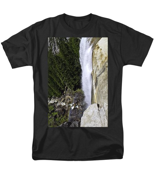 Men's T-Shirt  (Regular Fit) featuring the photograph Water Fall by Brian Williamson