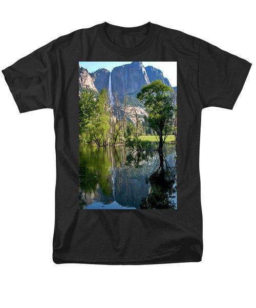 Water Fall Men's T-Shirt  (Regular Fit) by Menachem Ganon