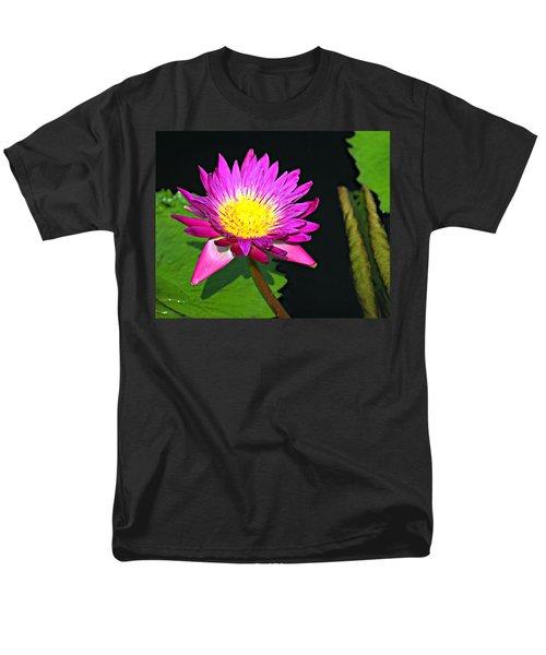 Men's T-Shirt  (Regular Fit) featuring the photograph Water Flower 10089 by Marty Koch