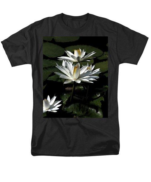Men's T-Shirt  (Regular Fit) featuring the photograph Water Lilies by John Freidenberg