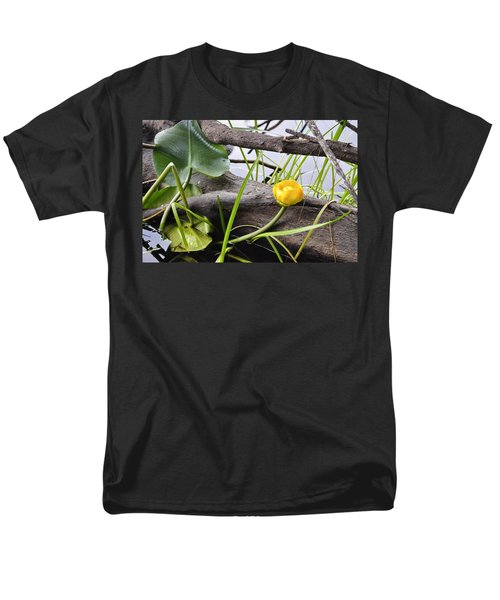 Men's T-Shirt  (Regular Fit) featuring the photograph Water Lily by Cathy Mahnke
