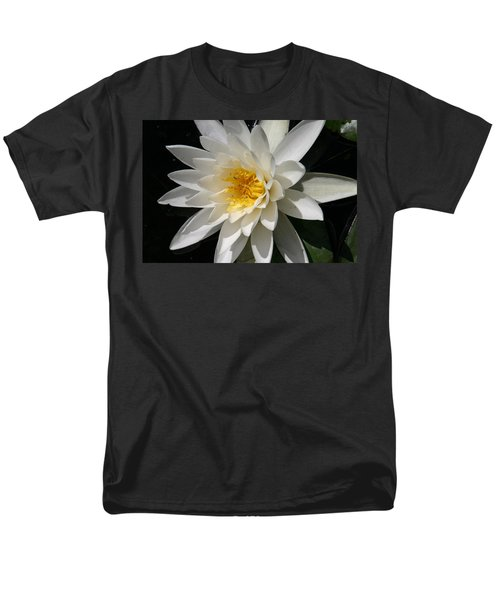 Men's T-Shirt  (Regular Fit) featuring the photograph Water Lily  by Denyse Duhaime