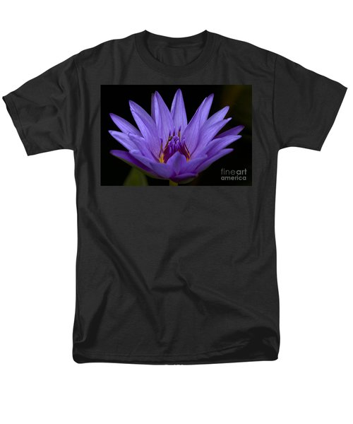 Men's T-Shirt  (Regular Fit) featuring the photograph Water Lily Photo by Meg Rousher