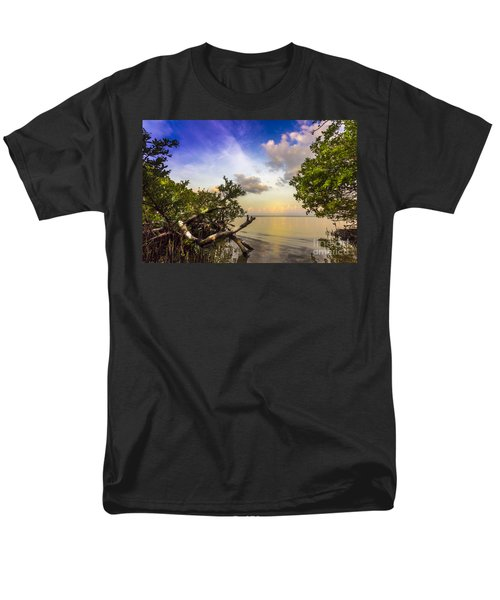 Water Sky Men's T-Shirt  (Regular Fit) by Marvin Spates