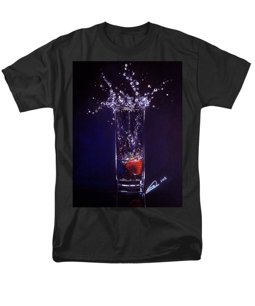 Water Splash Reflection Men's T-Shirt  (Regular Fit) by Alban Dizdari