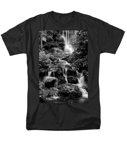 Waterfall At Rainbow Springs Men's T-Shirt  (Regular Fit) by Beverly Stapleton