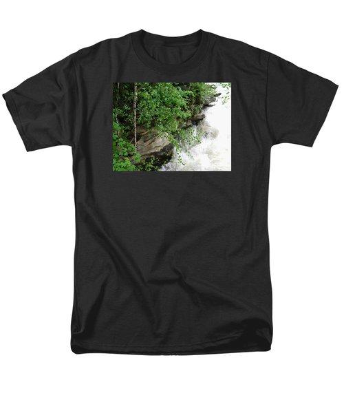 Waterfall Men's T-Shirt  (Regular Fit) by Oleg Zavarzin