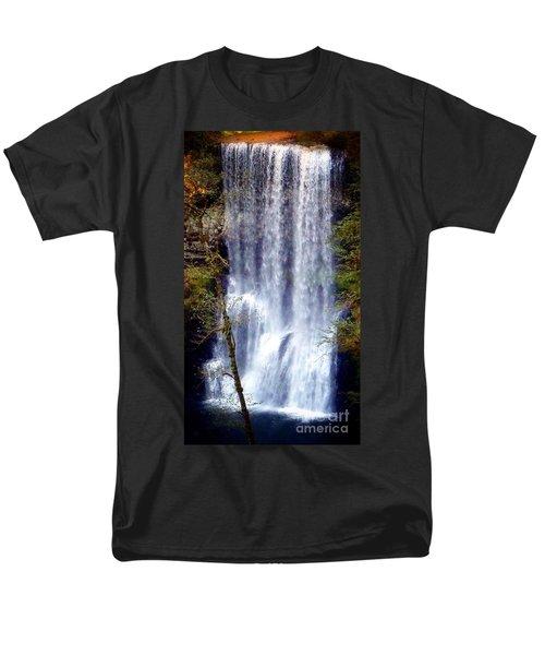 Waterfall South Men's T-Shirt  (Regular Fit) by Susan Garren