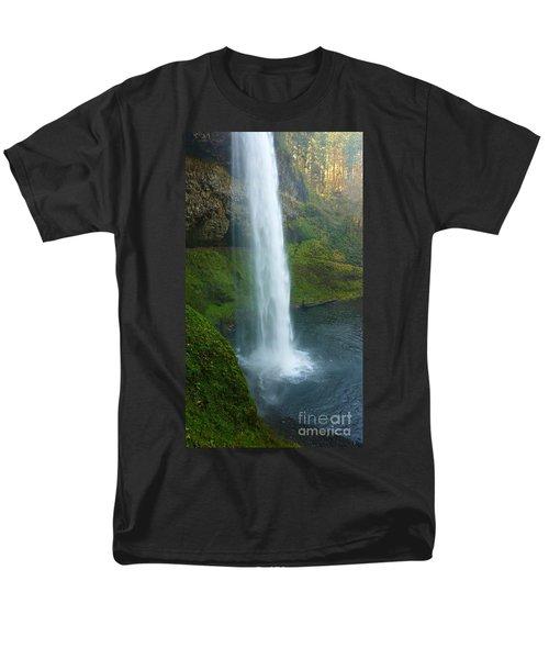 Waterfall View Men's T-Shirt  (Regular Fit) by Susan Garren