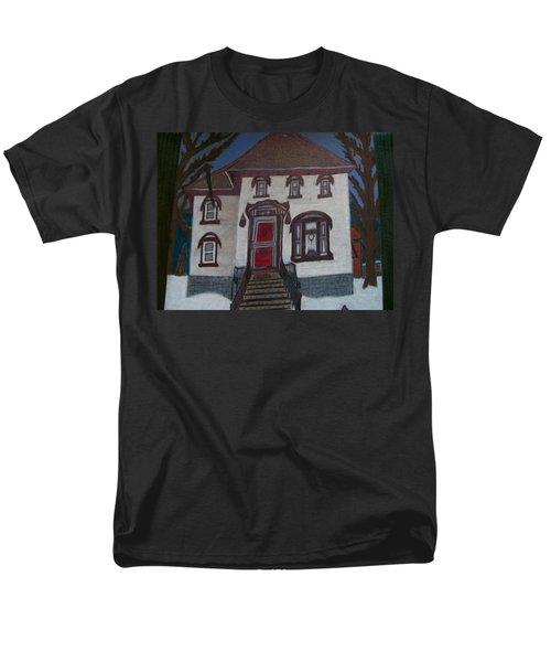 Historic 7th Street Home In Menominee Men's T-Shirt  (Regular Fit) by Jonathon Hansen