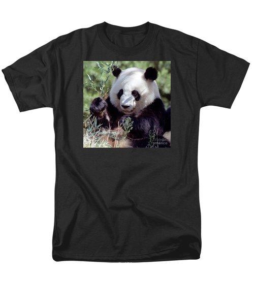 Waving The Bamboo Flag Men's T-Shirt  (Regular Fit) by Liz Leyden