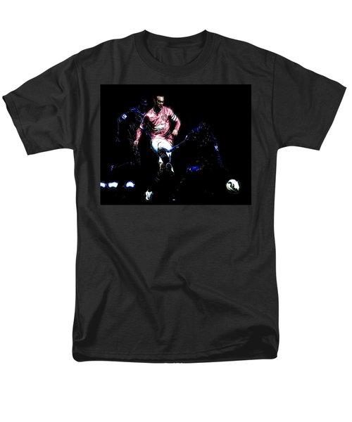 Wayne Rooney Working Magic Men's T-Shirt  (Regular Fit) by Brian Reaves