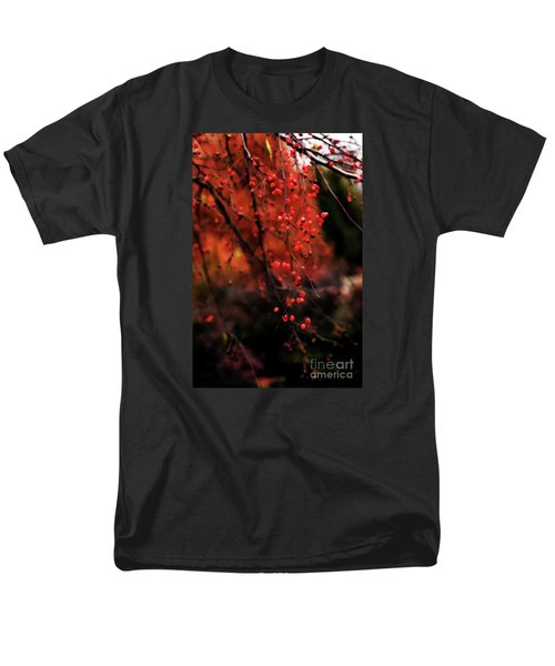 Men's T-Shirt  (Regular Fit) featuring the photograph Weeping by Linda Shafer