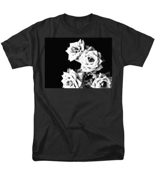 Men's T-Shirt  (Regular Fit) featuring the photograph Weeping Roses by Rachel Mirror