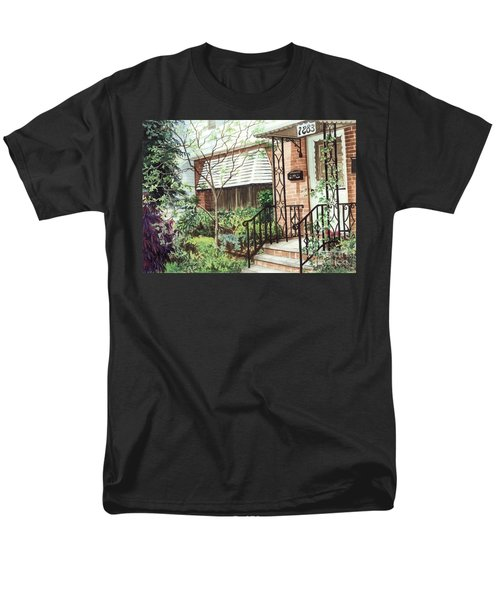 Men's T-Shirt  (Regular Fit) featuring the painting Welcome Home by Barbara Jewell