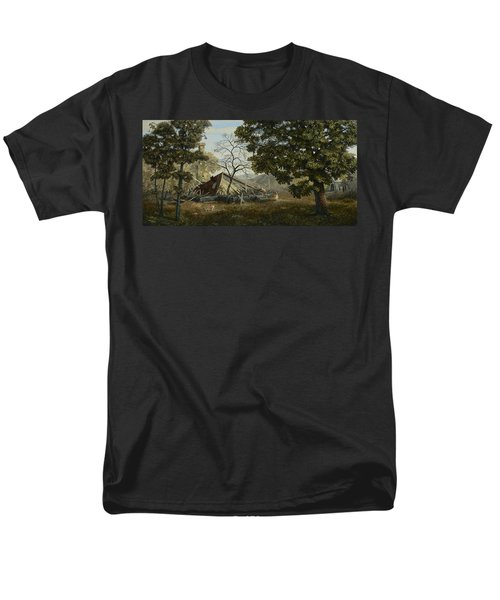Welcome Home Men's T-Shirt  (Regular Fit) by Duane R Probus