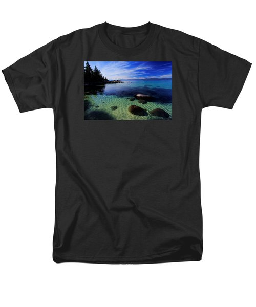 Men's T-Shirt  (Regular Fit) featuring the photograph Welcome To Bliss Beach by Sean Sarsfield