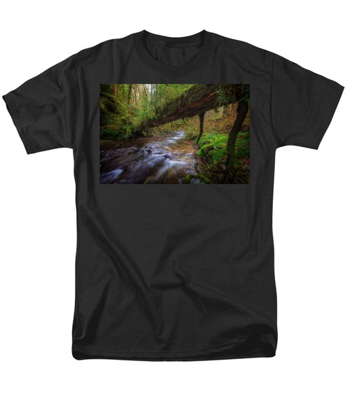 West Humbug Creek Men's T-Shirt  (Regular Fit) by Everet Regal
