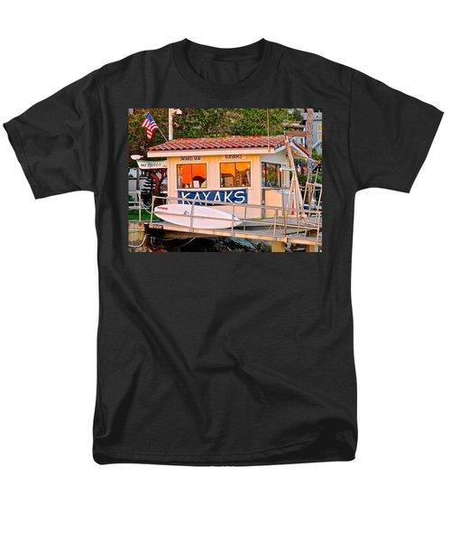 Wetspot Kayak Shack Men's T-Shirt  (Regular Fit) by Jeff Gater