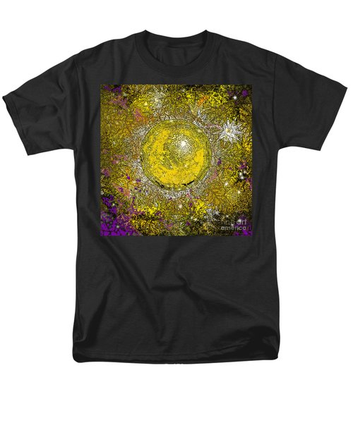 Men's T-Shirt  (Regular Fit) featuring the digital art What Kind Of Sun I by Carol Jacobs
