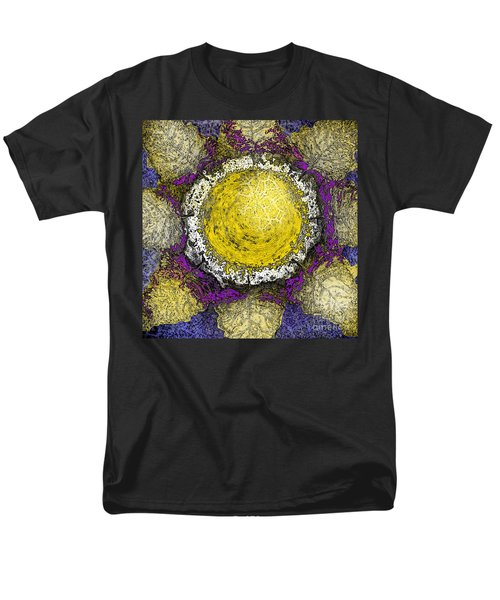 Men's T-Shirt  (Regular Fit) featuring the digital art What Kind Of Sun II by Carol Jacobs