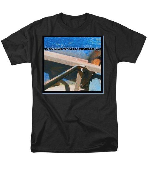 Men's T-Shirt  (Regular Fit) featuring the photograph Wheelbarrow Blues 2 Extra by Brooks Garten Hauschild