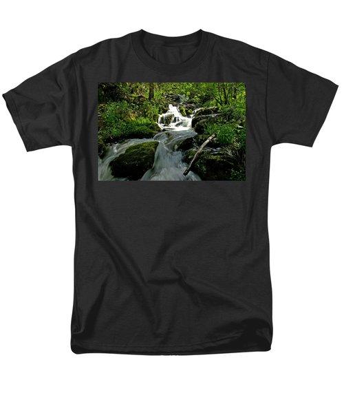 When Snow Melts Men's T-Shirt  (Regular Fit) by Jeremy Rhoades