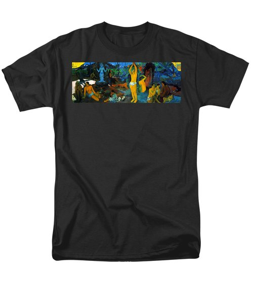 Where Do We Come From. What Are We Doing. Where Are We Going Men's T-Shirt  (Regular Fit) by Paul Gauguin