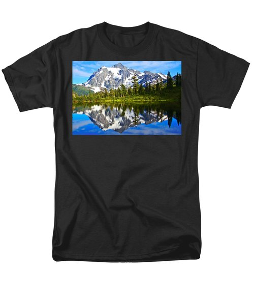 Men's T-Shirt  (Regular Fit) featuring the photograph Where Is Up And Where Is Down by Eti Reid