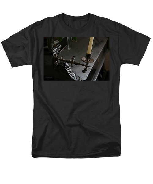 Where Music Once Played Men's T-Shirt  (Regular Fit) by Yvonne Wright