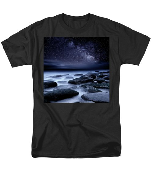 Where No One Has Gone Before Men's T-Shirt  (Regular Fit) by Jorge Maia