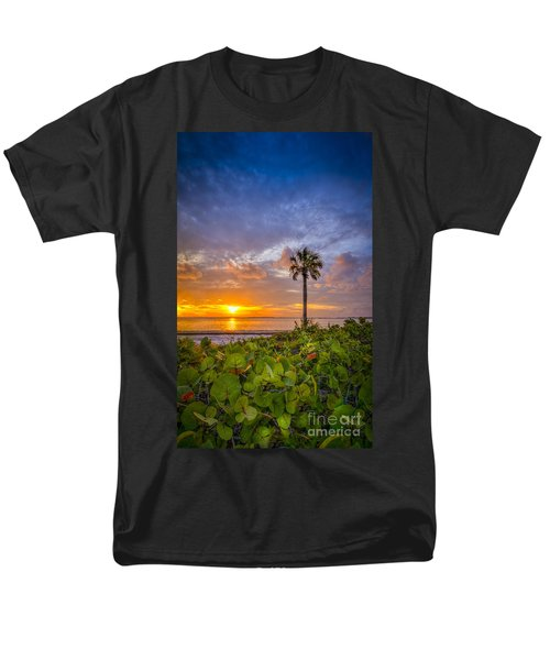 Where The Heart Is Men's T-Shirt  (Regular Fit) by Marvin Spates