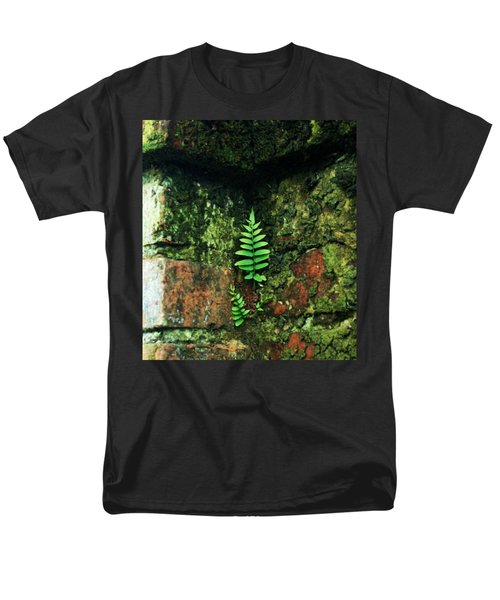 Men's T-Shirt  (Regular Fit) featuring the photograph Where There Is A Will by John Glass