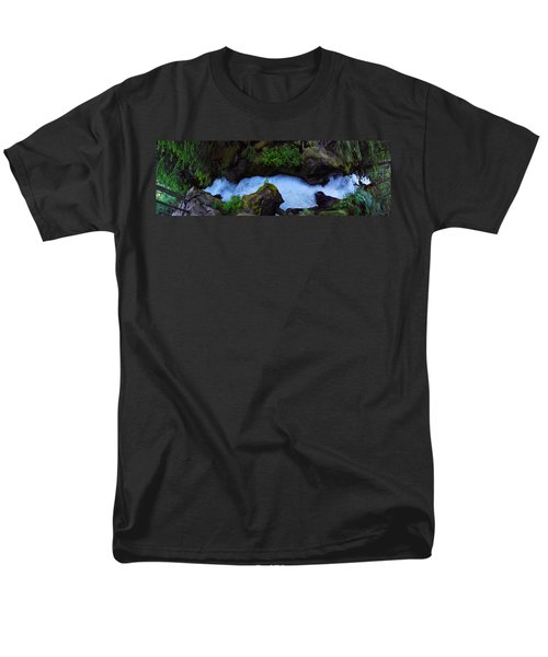 Men's T-Shirt  (Regular Fit) featuring the photograph Which Way by David Andersen