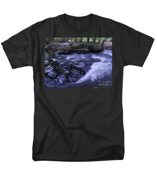 Men's T-Shirt  (Regular Fit) featuring the photograph Whirls by Mini Arora