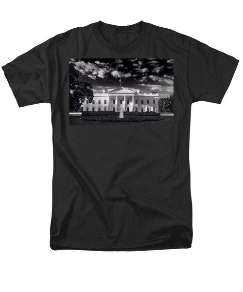 White House Sunrise B W Men's T-Shirt  (Regular Fit) by Steve Gadomski