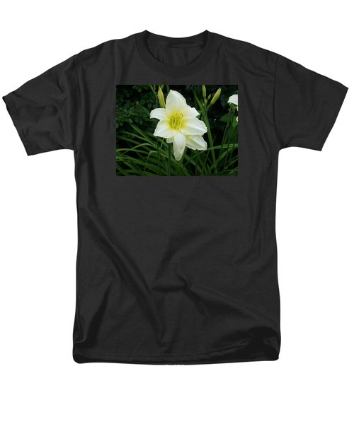White Lily Men's T-Shirt  (Regular Fit) by Catherine Gagne