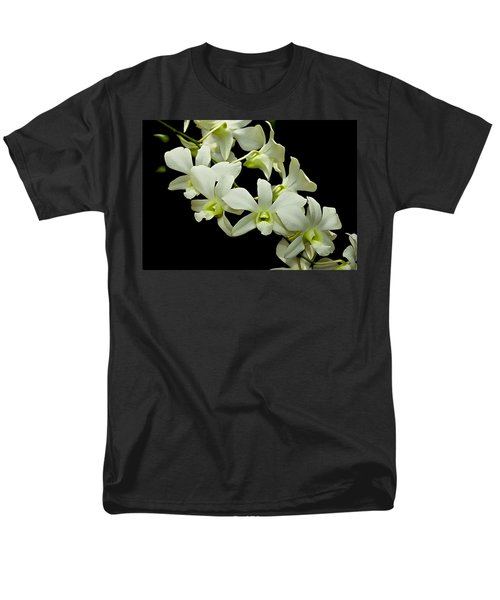 White Orchids Men's T-Shirt  (Regular Fit) by Swank Photography