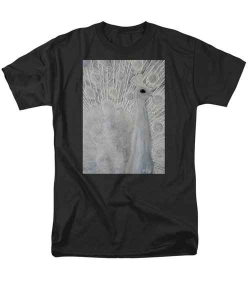 White Peacock Men's T-Shirt  (Regular Fit) by Patricia Olson