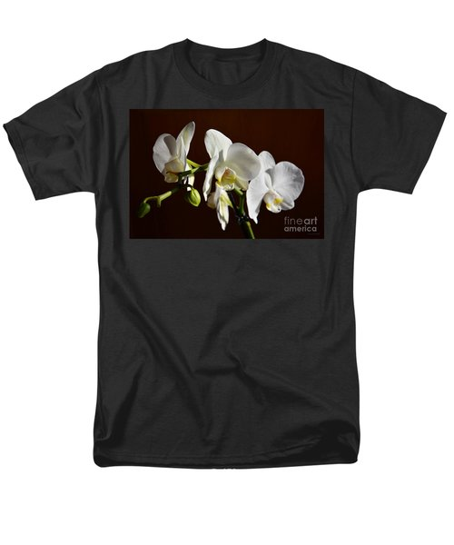 Men's T-Shirt  (Regular Fit) featuring the photograph White by Ramona Matei