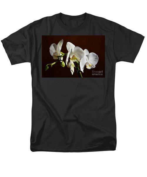 White Men's T-Shirt  (Regular Fit) by Ramona Matei
