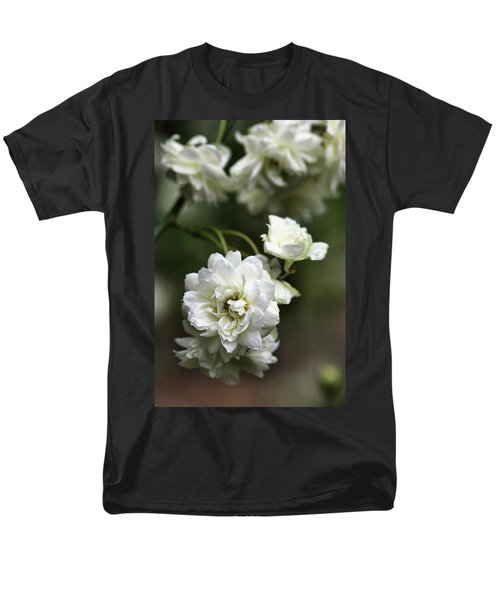 Men's T-Shirt  (Regular Fit) featuring the photograph White Roses by Joy Watson