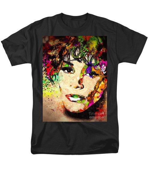 Whitney Houston Men's T-Shirt  (Regular Fit)